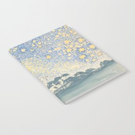 Landscape with Stars by Henri-Edmond Cross 1905–1908, French Notebook