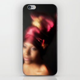 Blurred Butterfly iPhone Skin