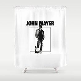 John Mayer Tour 2019 Shower Curtain