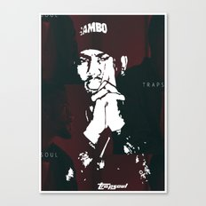 DON'T Canvas Print
