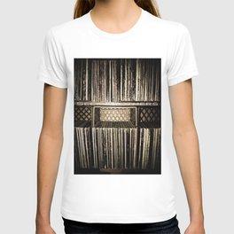 Record Crates T-shirt