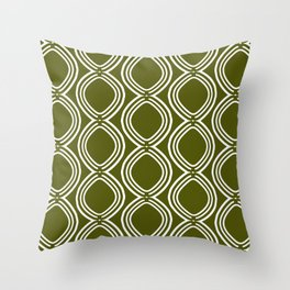 Hatchees (Olive Green) Throw Pillow