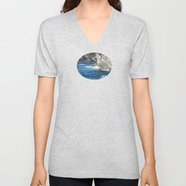 Million-Year Sculptures Unisex V-Neck