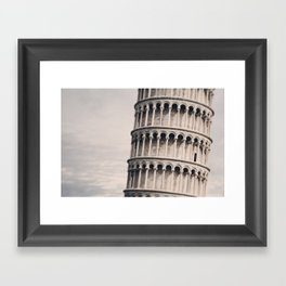 Torre di Pisa Framed Art Print