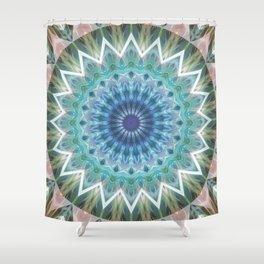 Mandala Turmalin  Shower Curtain