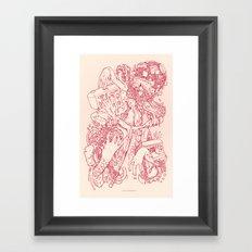 Needle and Thread Framed Art Print