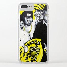 """""""The Wu"""" Clear iPhone Case"""