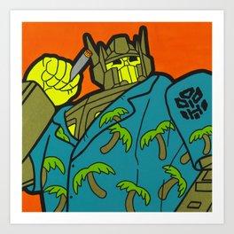 Opti-Maui Prime Art Print