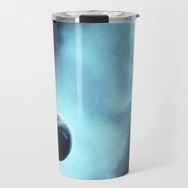 The Earth In Blue Fog Travel Mug