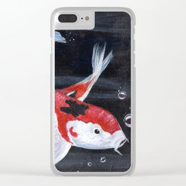 Koi 6 Clear iPhone Case