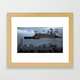 New York 2012 Framed Art Print