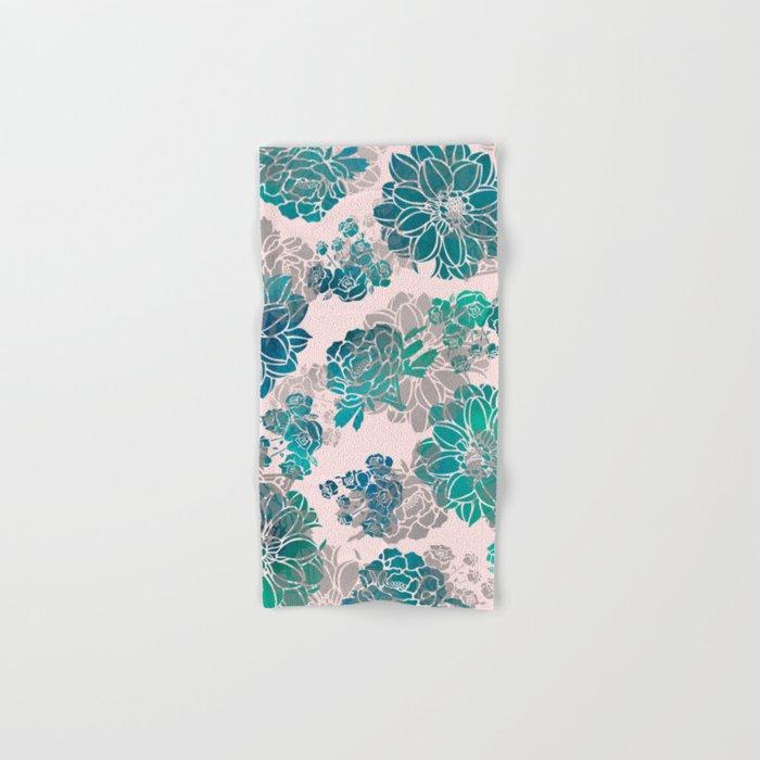 Flower Pattern Design #4 Hand & Bath Towel