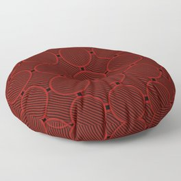 Round pipes Floor Pillow