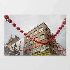 chinatown london 004 Canvas Print