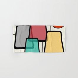 Mid-Century Modern Art Landscape 1.1 Hand & Bath Towel