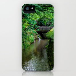 Kyoto Canal II iPhone Case