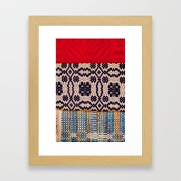 Fabric Art Framed Art Print