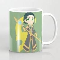 loki Mugs featuring Loki by Nozubozu