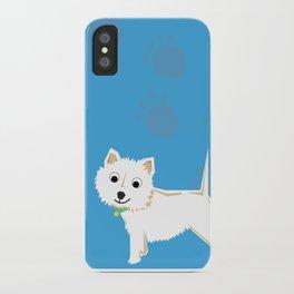 Coco Scottish terrier iPhone Case