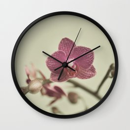 Orchid Arch Wall Clock