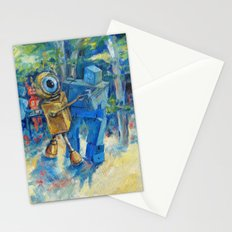 Robots Dancing Stationery Cards