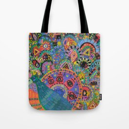 Peacock # 5 Tote Bag