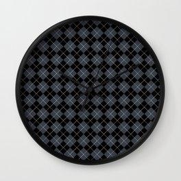 Argyle Answers Wall Clock