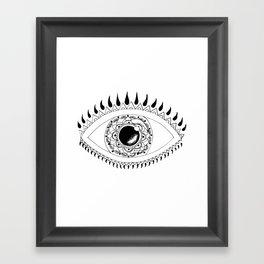 Eye Can't Even. Framed Art Print