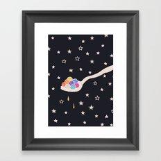 Spoonful Of Wonders Framed Art Print