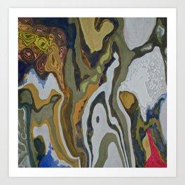 Taming The Waves Art Print