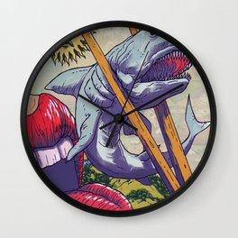 Sushi Suzi Wall Clock