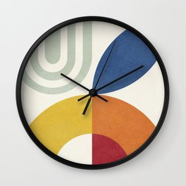 Attached Abstraction 03 Wall Clock