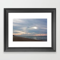 Cloudset Framed Art Print