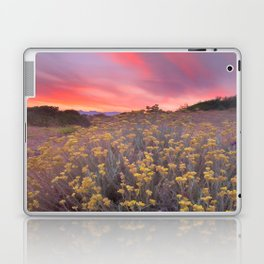 Magical clouds of light at sunset Laptop & iPad Skin