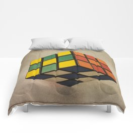 Cube of Rube Comforters