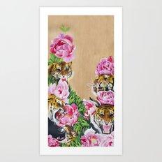 Tyger Tyger Art Print