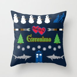 Ugly Christmas Special Throw Pillow