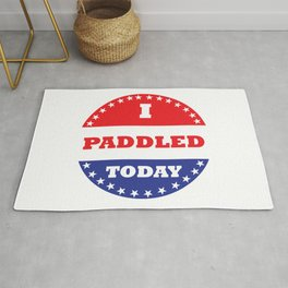 I Paddled Today Rug