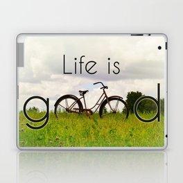 Life is Good Laptop & iPad Skin