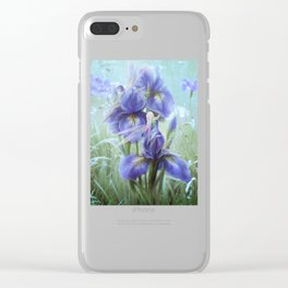 Imagine - Fantasy iris fairies Clear iPhone Case