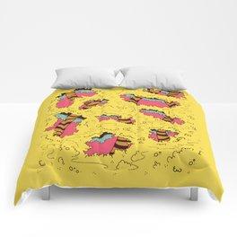 tree people version II Comforters