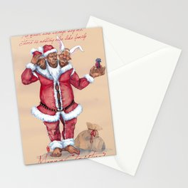 Fantasy Christmas Wishes Stationery Cards