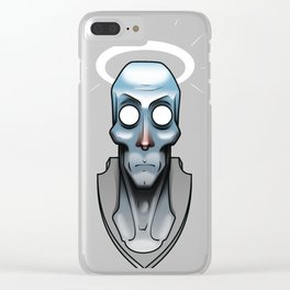 Dead Angel Clear iPhone Case