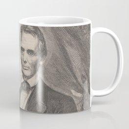 Vintage Abraham Lincoln Illustrative Portrait (1860) Coffee Mug
