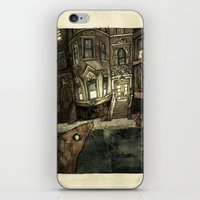 rat iPhone & iPod Skins featuring Rat by Jordan Walsh