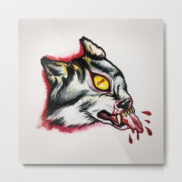 Cyclopes wolf  Metal Print