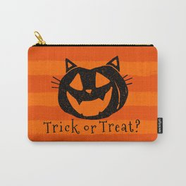 Trick or Treat? Halloween cat lady Carry-All Pouch