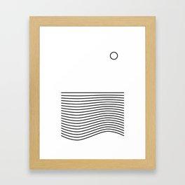 Vawes Framed Art Print