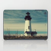 lighthouse iPad Cases featuring Lighthouse by Yellowstone Photo Studio