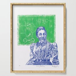 Emmy Noether, Giant of Math and Physis Serving Tray
